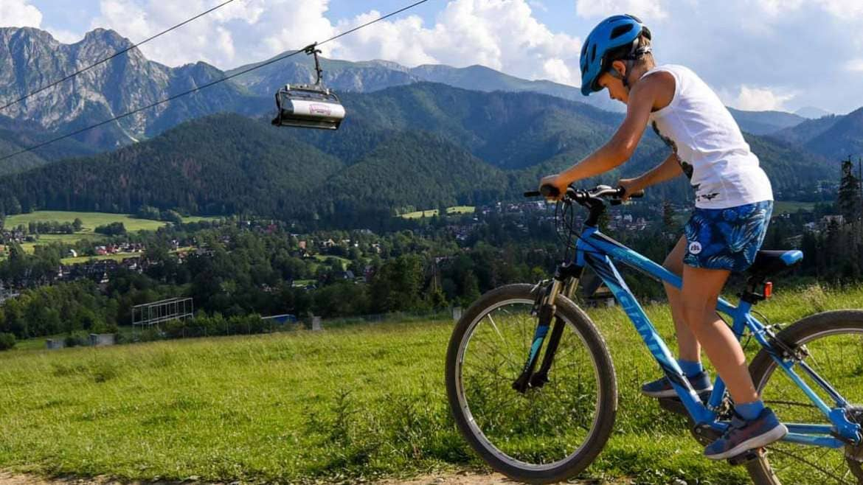 Zwiedzamy Zakopane i Tatry na rowerze